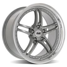 Mustang SVE Series 2 Wheel - 18x9 Gun Metal w/ Machined Lip (94-04)