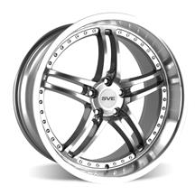 Mustang SVE Series 2 Wheel - 19x10  - Gun metal w/ Machined Lip (05-19)