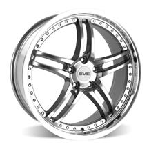 Mustang SVE Series 2 Wheel - 19x9  - Gun Metal w/ Machined Lip (05-19)