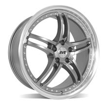 Mustang SVE Series 2 Wheel - 20x8.5 Gun Metal w/ Machined Lip (05-19)