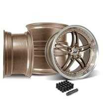 Mustang SVE Series 2 Wheel Kit - 20x8.5/10  - Satin Bronze (05-14)