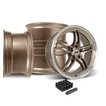 Mustang SVE Series 2 Wheel Kit - 20x8.5  - Satin Bronze (05-14)
