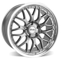Mustang SVE Series 3 Wheel - 19x9  - Gun Metal w/ Machined Lip (05-18)