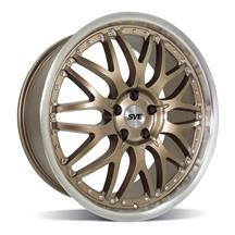 Mustang SVE Series 3 Wheel - 20x8.5  - Satin Bronze (05-20)