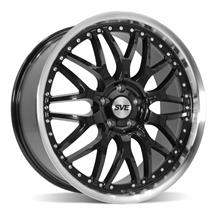 SVE Mustang Series 3 Wheel - 20x8.5 Gloss Black (05-20)