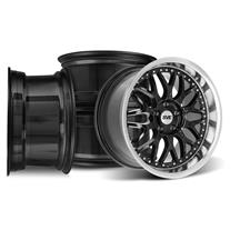 Mustang SVE Series 3 Wheel Kit - 18x9/10 Gloss Black (94-04)