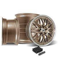 Mustang SVE Series 3 Wheel Kit - 20x8.5/10  - Satin Bronze (15-20)