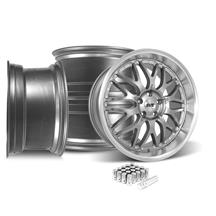 Mustang SVE Series 3 Wheel & Lug Nut Kit - 20x8.5/10 Gun Metal (15-19)