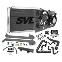 Mustang SVE Severe Duty Aluminum Radiator & Fan Kit (86-93) 5.0