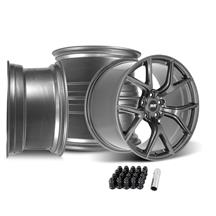 Mustang SVE SP2 Wheel Kit - 19x10/11  - Gloss Graphite (15-19)