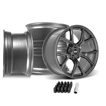 Mustang SVE SP2 Wheel Kit - 19x10  - Gloss Graphite (15-19)