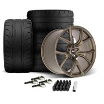 Mustang SVE SP2 Wheel & Tire Kit - 19x10/11  - Satin Bronze - NT05 Tires (15-19)
