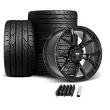 Mustang SVE SP2 Wheel & Tire Kit - 19x10  - Gloss Black - NT555 G2 Tires (05-14)