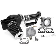 Mustang SVE Throttle Body and Cold Air Kit - 70mm (89-93) 5.0