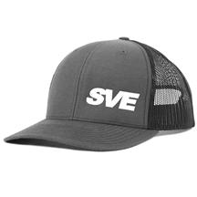 SVE Mesh Snapback Hat   - Grey/Black