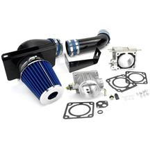 Mustang SVE Throttle Body and Cold Air Kit - 70mm (89-93)