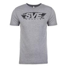 SVE Wheels T-Shirt - Vintage Gray - (Large)