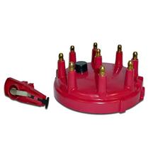 Mustang Distributor Cap & Rotor Kit Red (79-85) 5.0 5.8