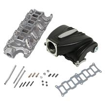 Mustang Trick Flow R-Series Intake Manifold  w/ 90mm Throttle Opening - Black (86-95) 5.0
