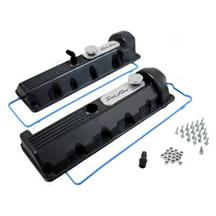 Mustang Trick Flow Aluminum Valve Covers - 11 Bolt Romeo Black (96-04) 4.6 2V