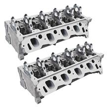Mustang Trick Flow Twisted Wedge 185 Cylinder Heads - 38cc Chamber (96-04) 4.6 2V