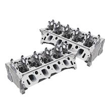 Mustang Trick Flow Twisted Wedge 185 Cylinder Heads - 44cc Chamber (96-04) 4.6 2V