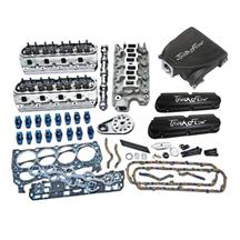 Mustang Trick Flow Top End Kit, w/ Street Burner Intake Black (87-93) 5.0L