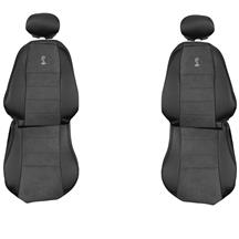TMI Mustang Cobra Front Seat Upholstery - Vinyl  - Dark Charcoal (03-04) 43-76503-6042-99-A
