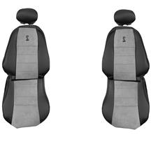 TMI Mustang Cobra Front Seat Upholstery - Vinyl  - Medium Graphite (03-04) 43-76503-6042-7042-A