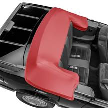 TMI Mustang Convertible Top Boot Scarlet Red (87-89) 22-7403-971