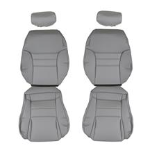 Mustang TMI Front Sport Seat Vinyl Upholstery  - Opal Gray (94-95) Coupe/Convertible