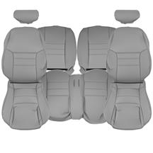Mustang TMI Sport Seat Vinyl Upholstery Kit  - Medium Graphite  (1998) Coupe