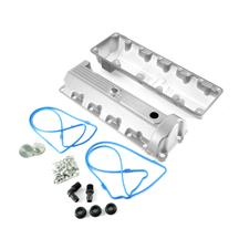 Trick Flow F-150 SVT Lightning Aluminum Valve Covers, 13/14 Bolt Windsor Silver (99-04) 5.4 51800802