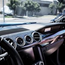 Mustang Trufiber Carbon Fiber Dash Kit - Performance Pack   (15-17)