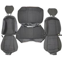 Mustang Acme Cloth Seat Upholstery - Sport Seats  - Opal Gray (1993) Convertible