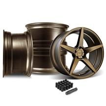 Mustang Velgen Classic5 Wheel Kit - 20x9/10.5  - Bronze (15-17)