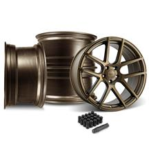 Mustang Velgen VMB5 20x9/10.5 Wheel Kit  - Bronze (05-14)