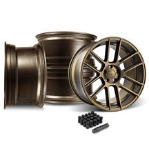 Mustang Velgen VMB6 Wheel & Lug Nut Kit - 20x9/10.5  Bronze (15-17)