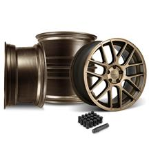 Mustang Velgen VMB7 20x9/10.5 Wheel Kit  - Bronze (05-14)
