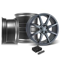 Mustang Velgen VMB8 20x9/10.5 Wheel & Lug Nut Kit  Gunmetal (05-14)