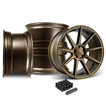 Mustang Velgen VMB9 Wheel & Lug Nut Kit - 20x9/10.5 Bronze (15-17)