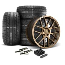 Mustang Velgen VMB7 Wheel & Tire Kit - 20x9/10.5  - Bronze (15-20)
