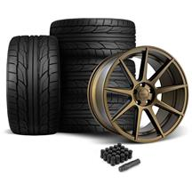 Mustang Velgen VMB9 Wheel & Tire Kit - 20x9/10.5  - Bronze (05-14)