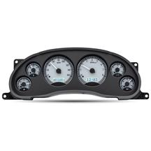 Mustang Dakota Digital VHX Digital Instrument Cluster  - Silver Alloy, Red Backlighting (94-04)