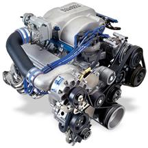 Vortech Mustang 5.0L V-3 SCi Non-Intercooled Entry Level System Polished (86-93) 4FA218-018L