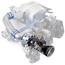 Mustang Vortech V-3 SI-Trim H.O. Supercharger Kit Non-Intercooled, Satin (86-93)