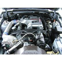 Mustang Vortech V-2 SI Non-Intercooled H.O. Complete Supercharger System - Satin (86-93)