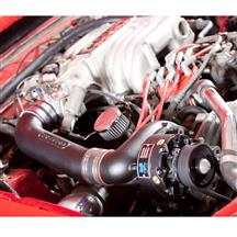 Mustang Vortech V-3 SI Non-Intercooled H.O. Complete Supercharger System - Black (86-93)