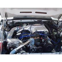 Mustang Vortech V-3 SI Non-Intercooled H.O. Complete Supercharger System - Polished (86-93)