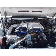 Mustang Vortech V-2 SI Non-Intercooled H.O. Complete Supercharger System - Polished (86-93)